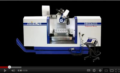 A560 Port Block CNC Machine Tool Video