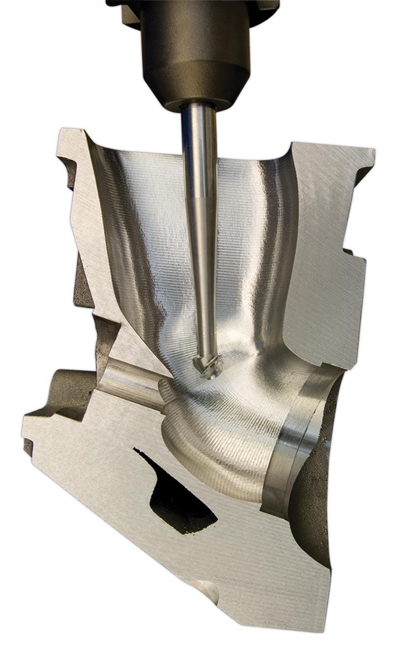 A560 5-Axis CNC Articulating-Head Porting Machine - high-speed